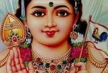 Hindi god