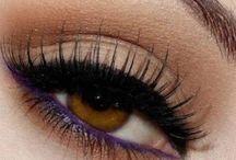 Occhi marroni trucco