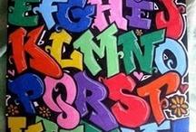 Tags & street art / Ideoita oppilaiden katuliituteoksiin vapuksi 2015
