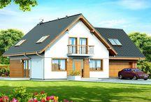 Projekty domów z dachem dwuspadowym / Projekty domów z dachem dwuspadowym to kolekcja projektów przygotowana dla osób, które cenią obie prostotę rozwiązań w architekturze. Dach dwuspadowy to dach o dwóch połaciach przecinających się w kalenicy. O popularności domów z dachem dwuspadowym decyduje to, że ze względu na ich nieskomplikowaną konstrukcję są szybsze i tańsze w budowie.