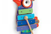Dla wielbicieli muzyki - inspiracje na Dzień Dziecka / Instrumenty muzyczne, pozytywki - wszystko co gra pięknie lub na czym można grać.