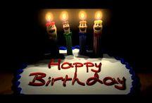 Saudações de aniversário
