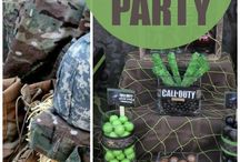 Call Of Duty Party Ideas
