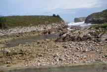 Playa de Buelna / Playa natural con un paisaje de gran belleza