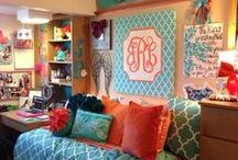 college dorms ideas / by Susie Murguia