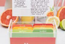 recipe citrus templates