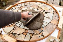 Mesas con piedra