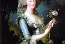 Marie Antoinette, 18th c. France / 17th and 18th c. French paintings, costumes and history