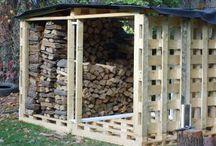 houtopslag - wood storage