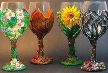 Glass Crafts / by Michele Jones