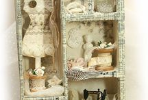 Altered Trays and Tins / by Kathy Wolansky