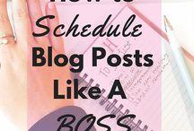 New Blogger Advice