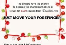 dresslink.com Pin to get $100 coupon