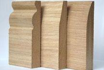 Oak skirting