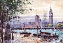 Henderson Cisz / Brazilian Cityscape Artist  Stunning cityscape collection of artworks from London, New York, Paris, Amsterdam, Las Vegas .....
