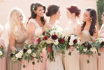 Bridesmaid Bouquets by Wild Bunches Floral