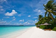 Reethi Beach Resort, Maldives / Reethi Beach Resort is an idyllic private island escape, only a scenic 35 minutes seaplane flight from the capital Male. The resort is located in the UNESCO Biosphere Reserve of Baa Atoll, on the tiny island of Fonimagoodhoo.