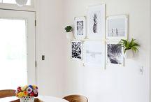 Art ideas - prints and plants