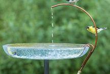 a dripper for bird baths