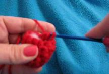 crochet. fruits