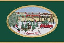 2015 Brett Chistmas Card Collection / Brett tapestry Christmas card available for purchase at MyCards4less.com