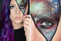 Bonnie's costume makeup