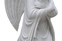 Angel Statues / Look at the beautiful craftsmanship in these Angel Statues from headstoness.com