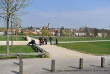 Jardins et espaces détentes de Metz