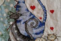Cross-stitch animals - haft krzyżykowy zwierzęta