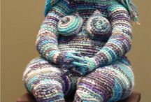 outstanding crochet and knitting