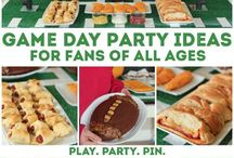 Game day party ideas / by Mary Closs