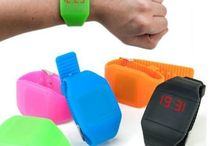 MONTRE TACTILE SILICONE