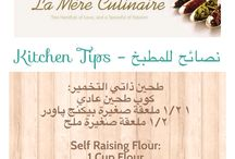 Kitchen & Cooking Tips / Tips that come in handy in the kitchen!