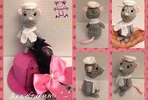 AngieGurumi Knit Work ^_^  / Mis Amigurumis en Agujas