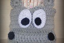 Crochet Diaper Basket