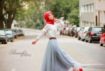Moslem Hijab Inspiration / This board includes photos of Muslim girls with simple and fashionable hijab