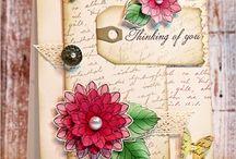 Cards Penny Black dies / by Lou Ann Ewing