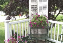 RE-PURPOSED SHUTTERS / #shutters #re-purposed shutters