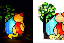kiskosar - stained glass lamps
