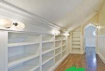 шкафы,кладовки