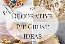 Decorative pie pastry