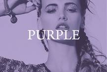 purple / by Left on Houston