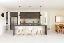 Kitchen / Waterfall  Cupboard colour