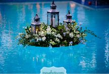 Swimmingpools / How to use oil lamps to light up an atmosphere in and around the pool.