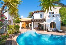 villa chalets c/piscina