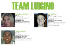 Team Luigino / by Peg Corwin