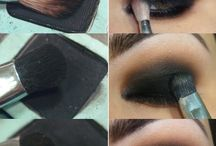 dark eye makeup