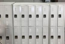 CU Case - Frederick, CO #DeBourgh #Lockers / #Cooregidoor #CoolWhite #SentryTwoLatch #LouveredVentilation #PianoHinge #SlopeTop #ClosedBase #DeBourgh #Lockers