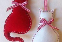 Téli/karácsonyi dekorációk