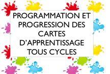 progressions programmations